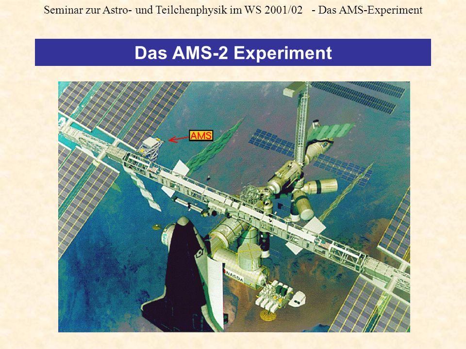 Seminar zur Astro- und Teilchenphysik im WS 2001/02 - Das AMS-Experiment Das AMS-2 Experiment