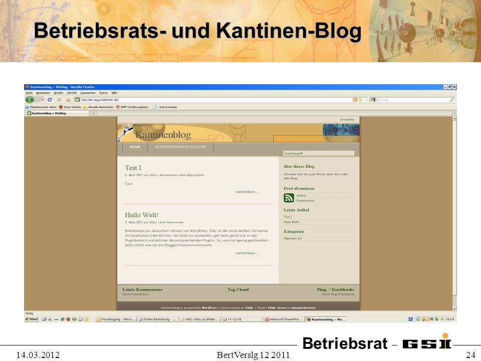 Betriebsrat 14.03.2012BertVerslg 12 2011 24 Betriebsrats- und Kantinen-Blog