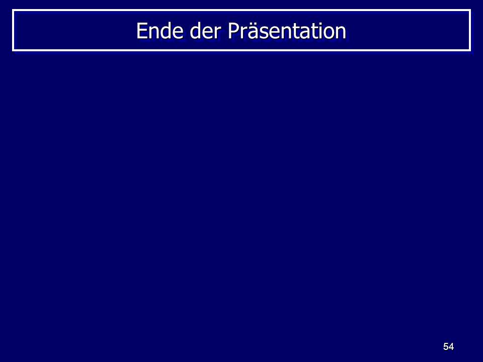 54 Ende der Präsentation