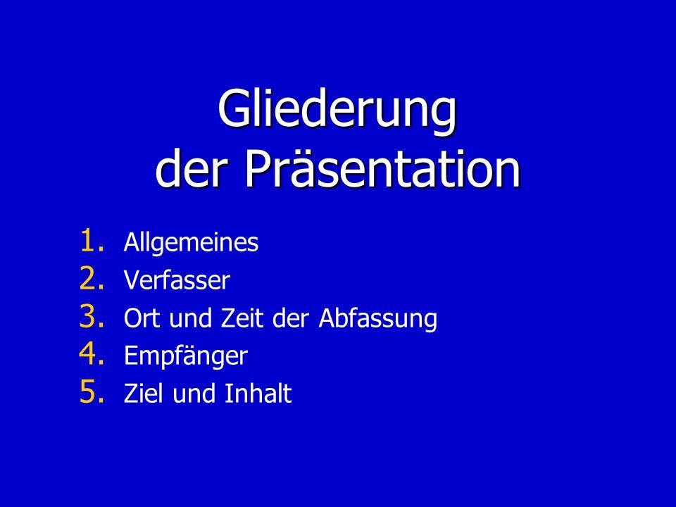 Der Hebräerbrief - Allgemeines Der Hebräerbrief ist einer der wichtigsten neutestamentlichen Briefe.
