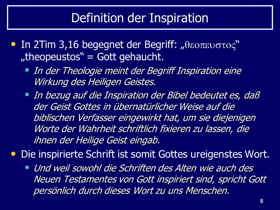 19 Die verbale Inspiration In Heb 4,7; 12,26 27 usw.