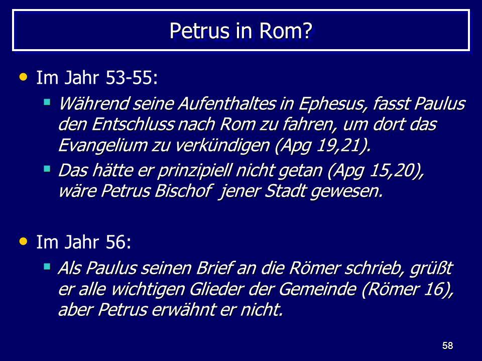 58 Petrus in Rom.