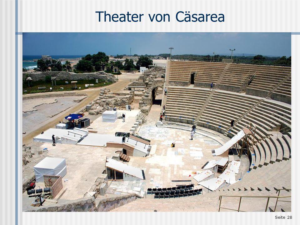 Seite 28 Theater von Cäsarea