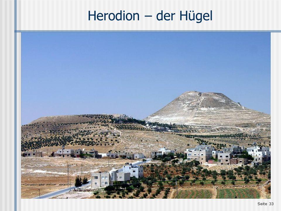 Seite 33 Herodion – der Hügel