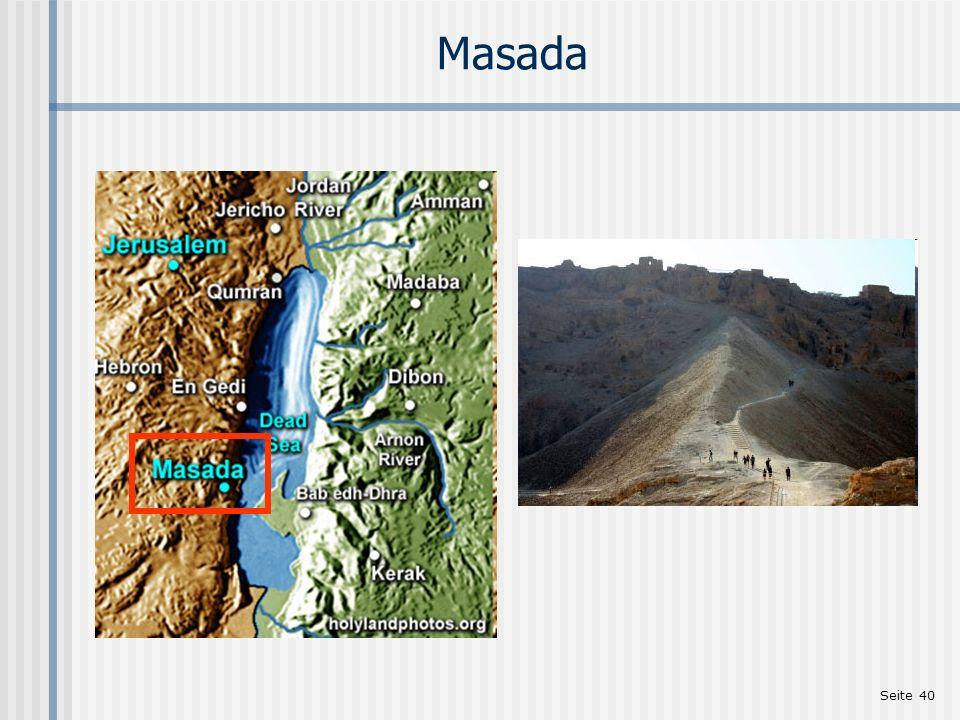 Seite 40 Masada