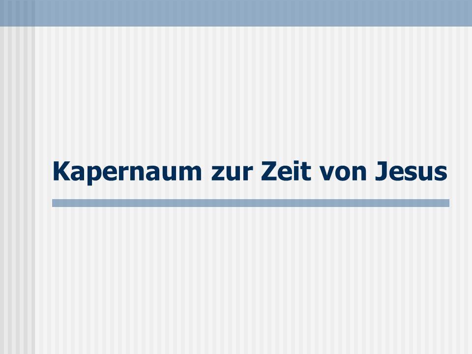 Seite 13 Kapernaum im 4.Jh. Im 4. Jh.