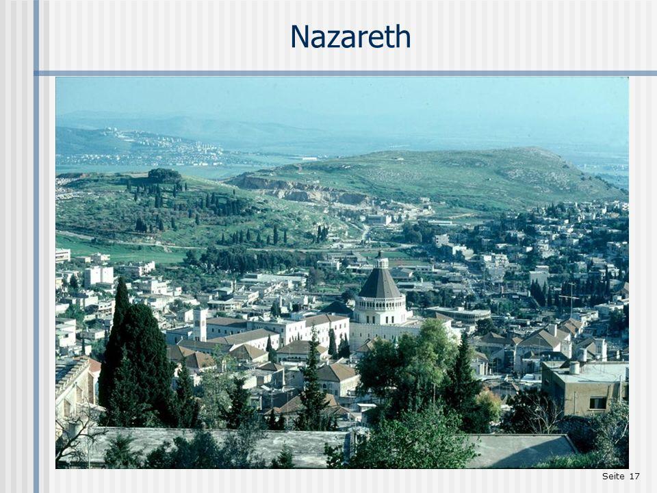Seite 17 Nazareth