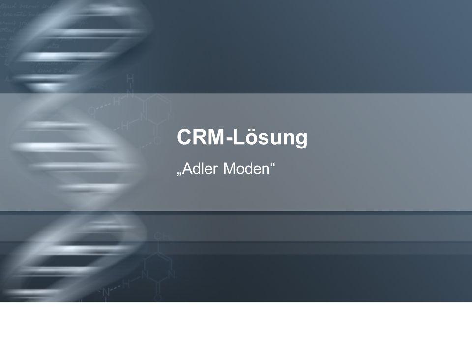 CRM-Lösung Adler Moden