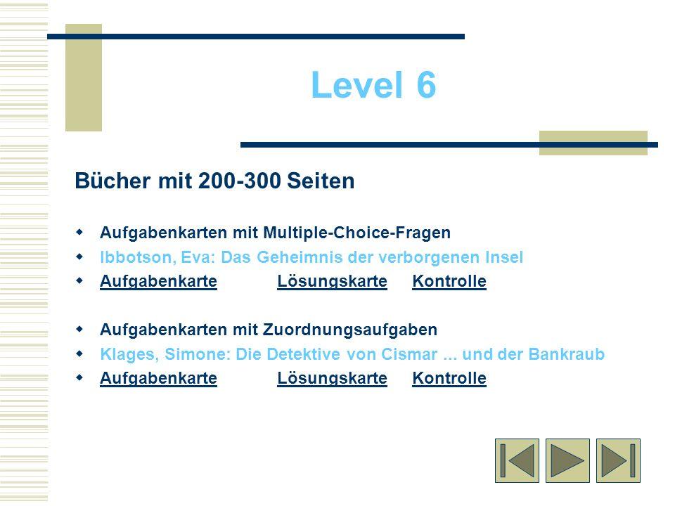 Bücher mit 200-300 Seiten Aufgabenkarten mit Multiple-Choice-Fragen Ibbotson, Eva: Das Geheimnis der verborgenen Insel AufgabenkarteLösungskarteKontro