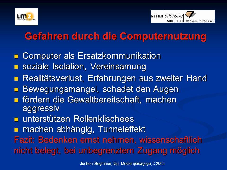Jochen Stegmaier, Dipl.