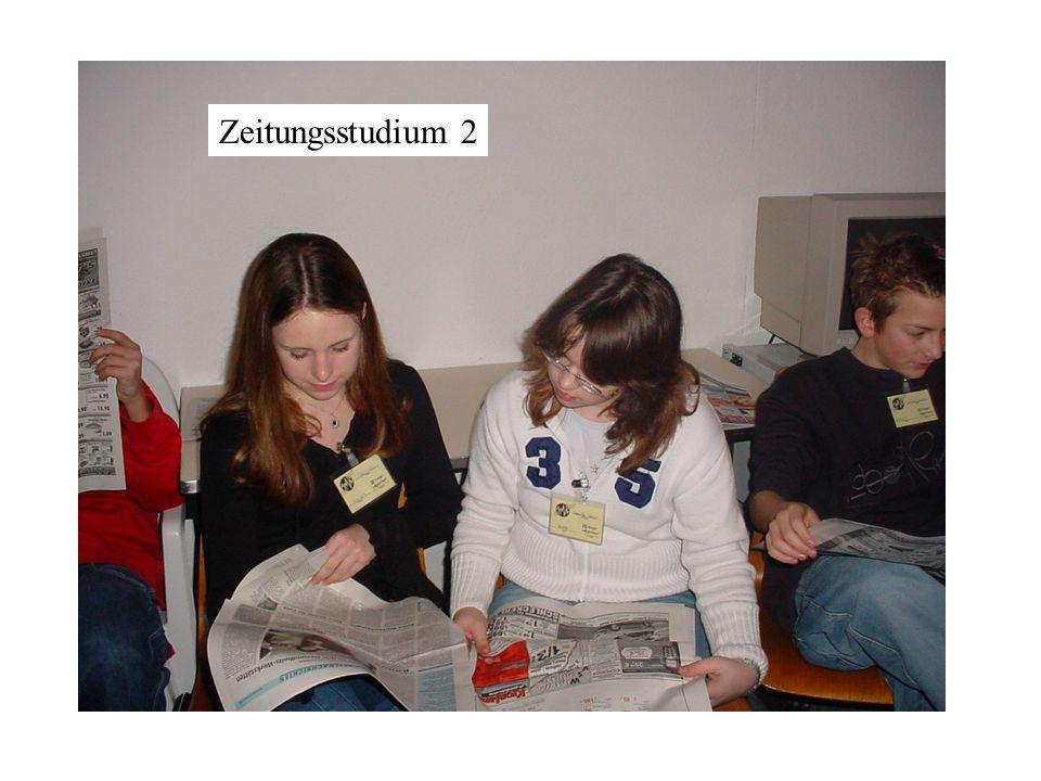 Zeitungsstudium 2