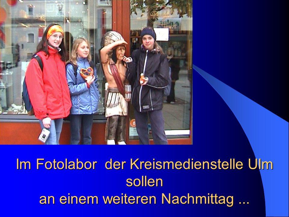 Im Fotolabor der Kreismedienstelle Ulm sollen an einem weiteren Nachmittag...
