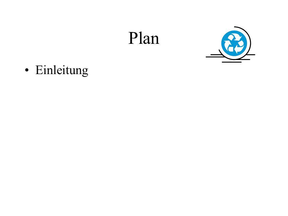 Einleitung Plan