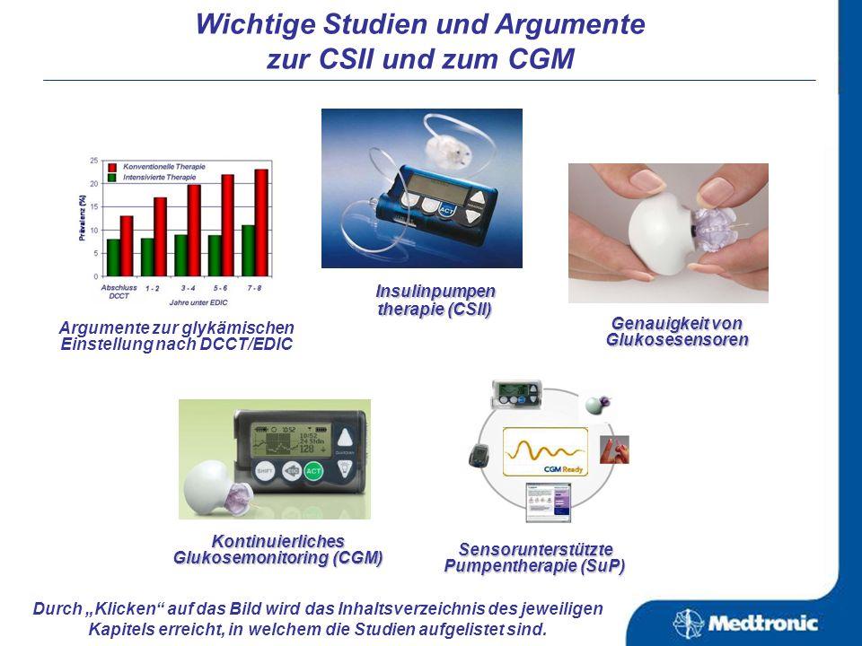 nach: Gross TM, et al.DiabetesTechnol Ther.