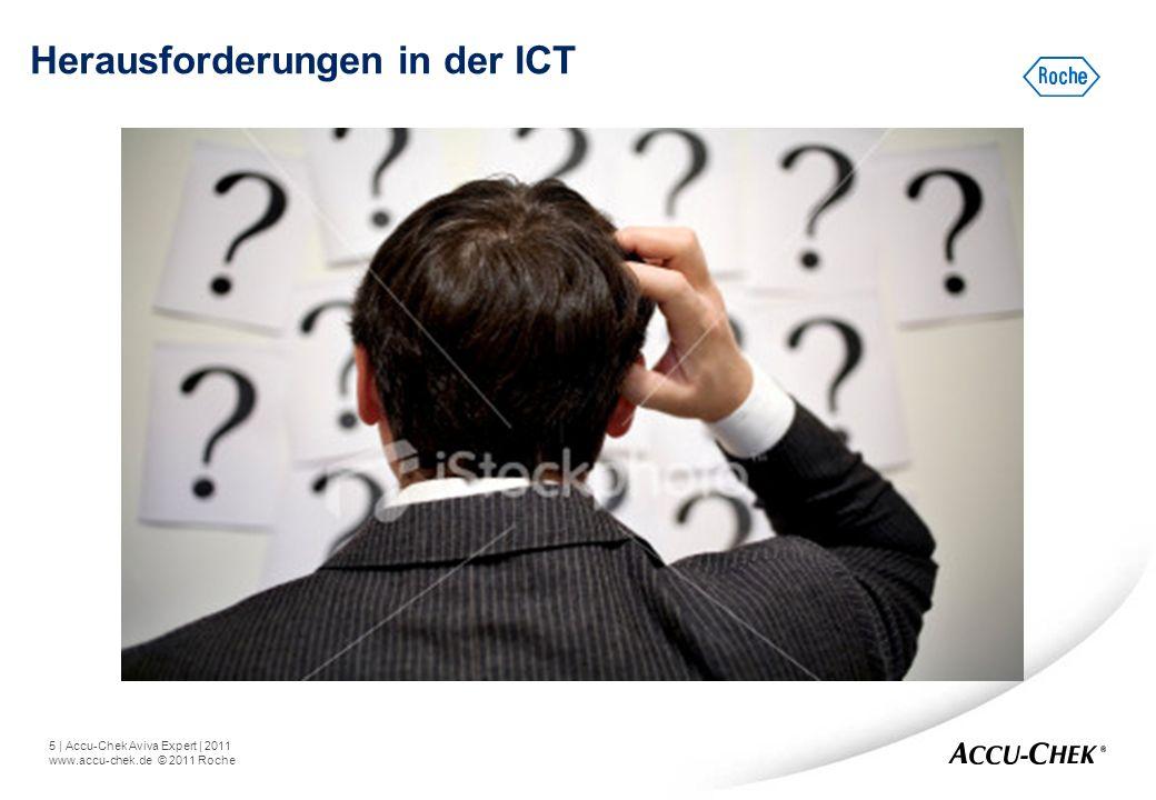 5   Accu-Chek Aviva Expert   2011 www.accu-chek.de © 2011 Roche Herausforderungen in der ICT