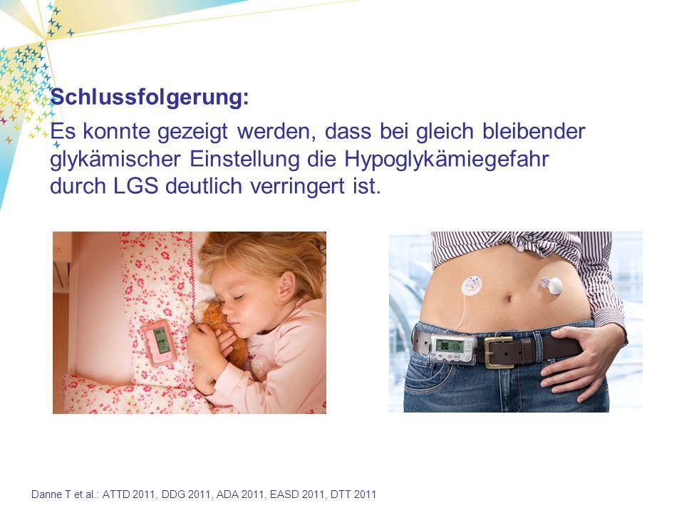 Zusammenfassung Die Hypoabschaltung (LGS) verhindert schwere Hypoglykämien.
