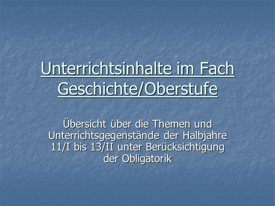 11/I Vom Mittelalter zur Neuzeit – Der Aufbruch in ein goldenes Zeitalter.