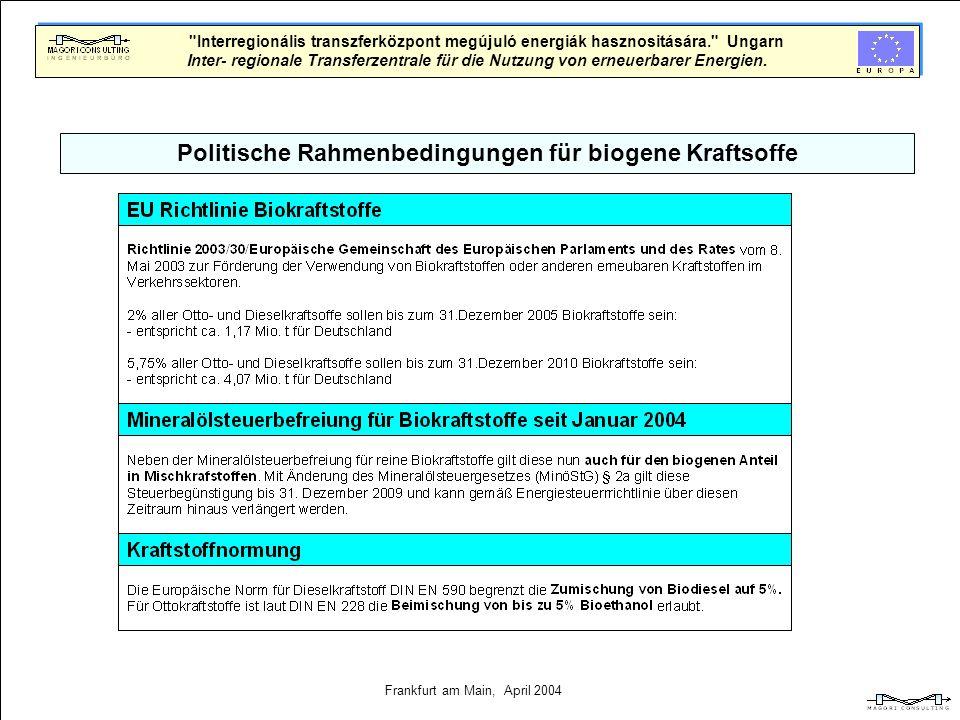 Geschäftsmodell Projekt Ungarn Finanzierungskonzept SAPARD Programm 50-60 millionen Forint ~240.000. INTERREG Programm 100 millionen Forint ~380.000.
