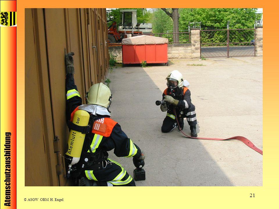 Atemschutzausbildung © ASGW OBM H. Engel 21