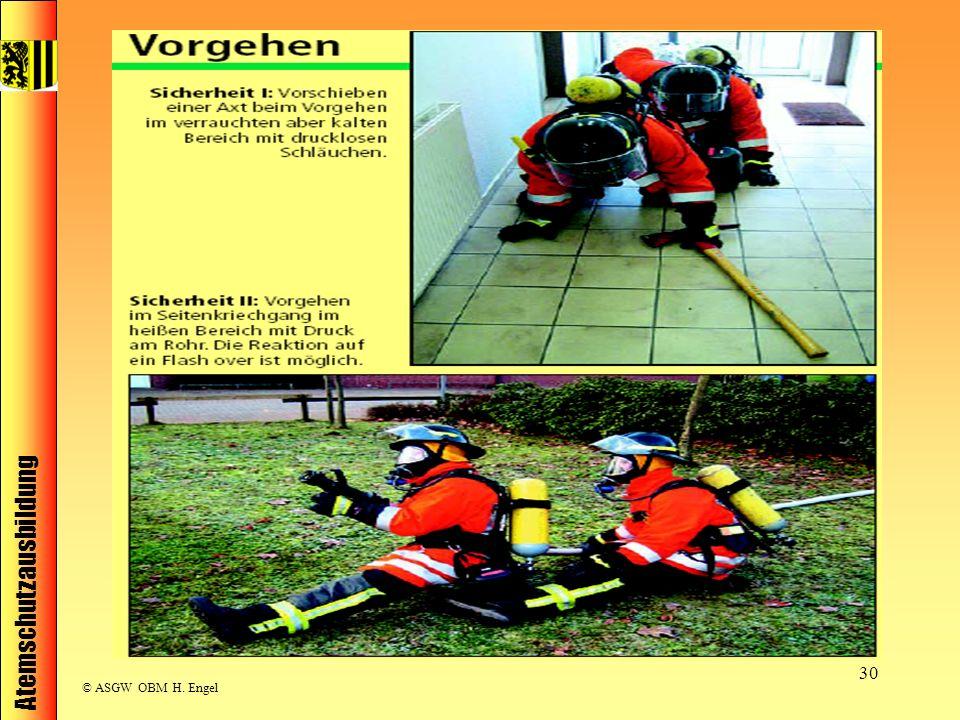 Atemschutzausbildung © ASGW OBM H. Engel 30
