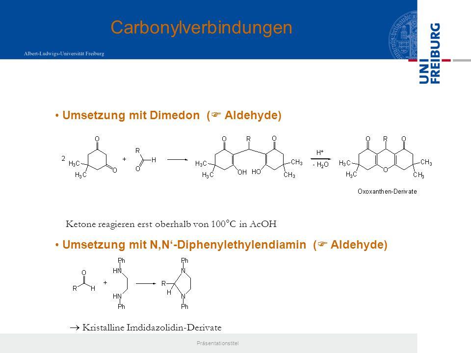 Präsentationstitel Klassifizierung:primär, sekundär, tertiär aliphatisch, aromatisch (Aniline) quartäre Ammoniumverbindungen Bedeutung:ca.