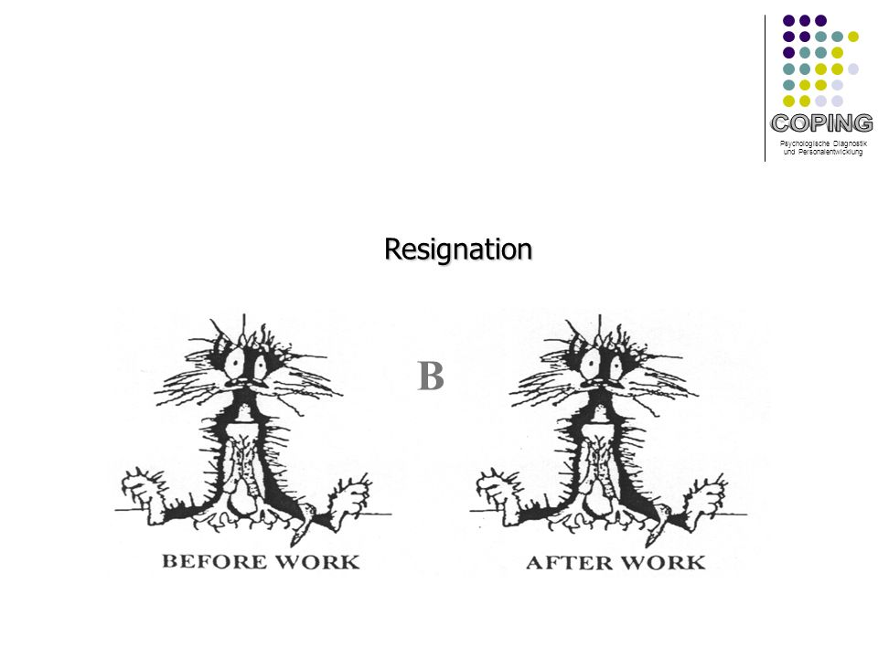 Psychologische Diagnostik und Personalentwicklung BResignation