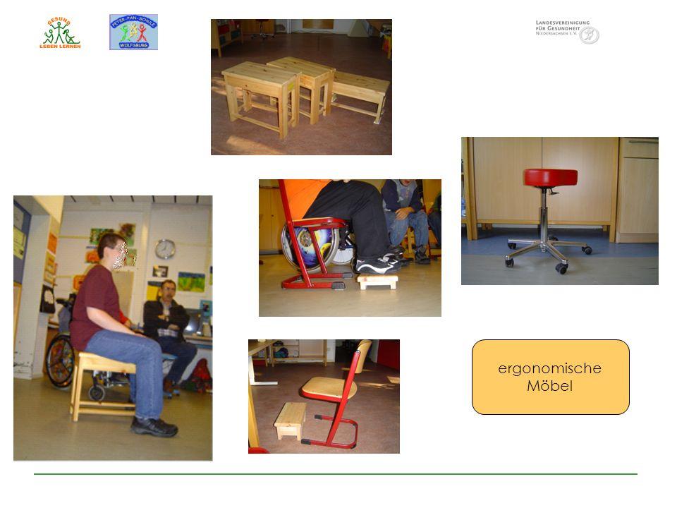 ergonomische Möbel