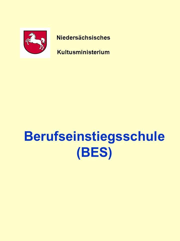 Berufseinstiegsschule (BES) Niedersächsisches Kultusministerium
