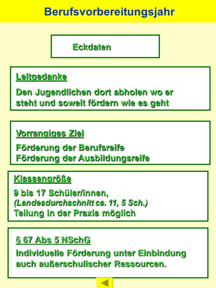 LernbereicheWochenstunden Berufsübergreifender Lernbereich 7 mit den Fächern Deutsch/Kommunikation Politik Sport Religion Berufsbezogener Lernbereich