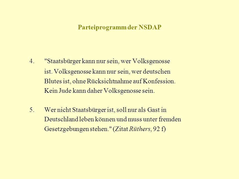 Parteiprogramm der NSDAP 4.