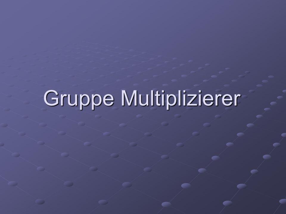 Gruppe Multiplizierer
