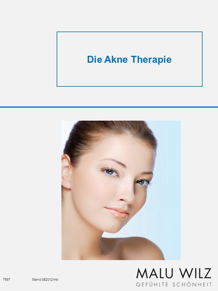 Die Akne Therapie : Akne Behandlungen stellen für jede Kosmetikerin eine Herausforderung dar.