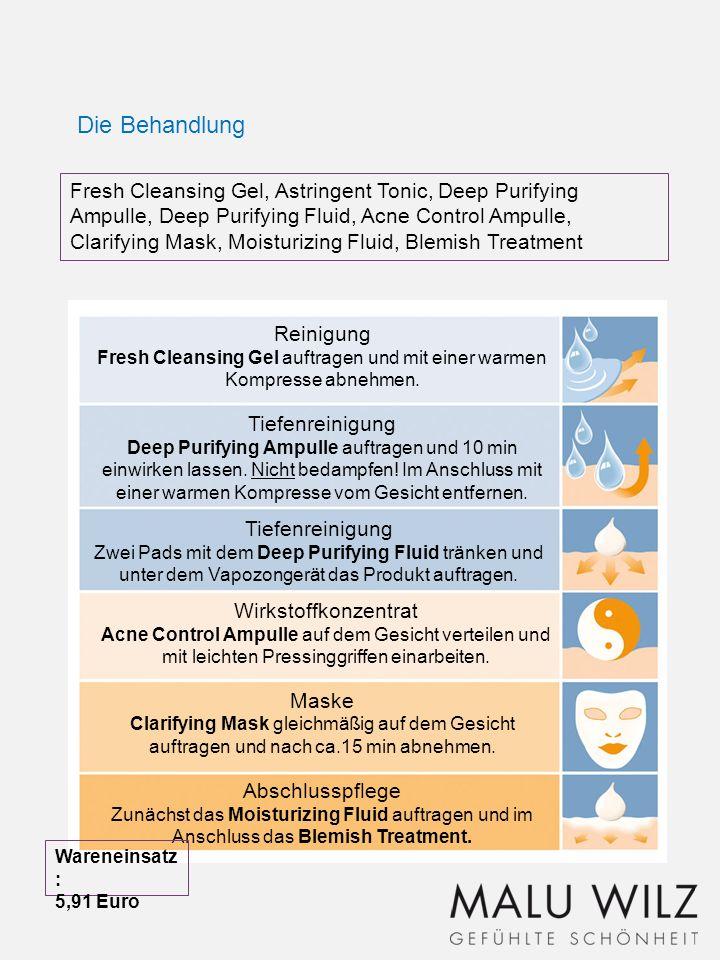 In der Akne-Therapie sollte auf eine Massage verzichtet werden.