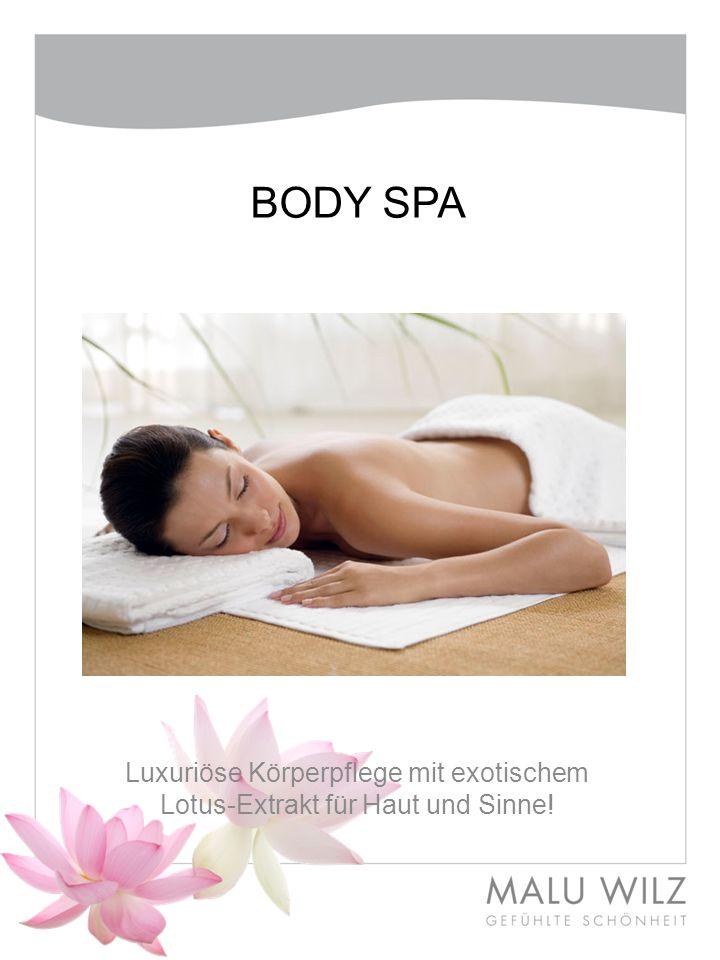 BODY SPA Luxuriöse Körperpflege mit exotischem Lotus-Extrakt für Haut und Sinne!