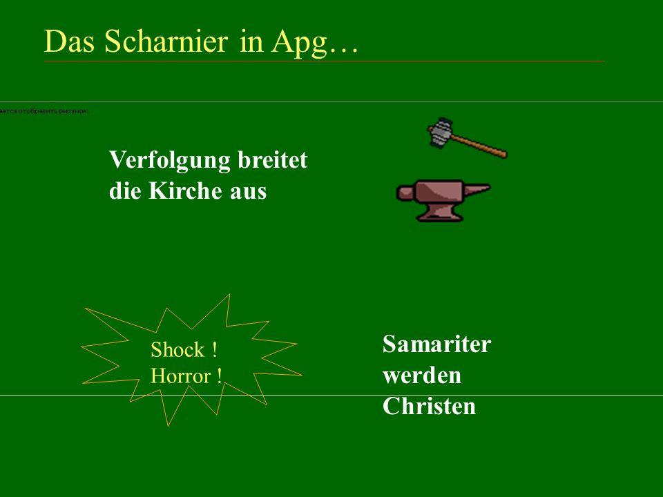Das Scharnier in Apg.