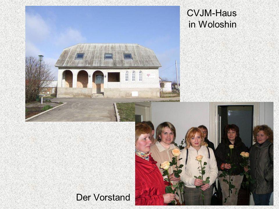 Der Vorstand CVJM-Haus in Woloshin
