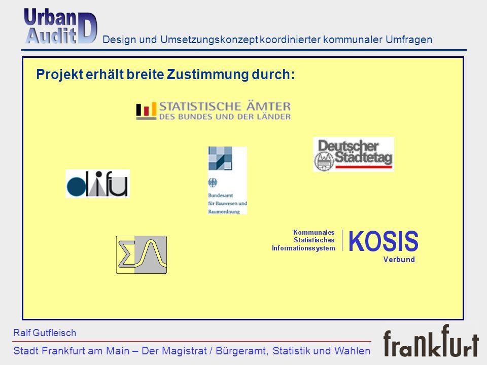 ___________________________________________________________ Stadt Frankfurt am Main – Der Magistrat / Bürgeramt, Statistik und Wahlen Ralf Gutfleisch