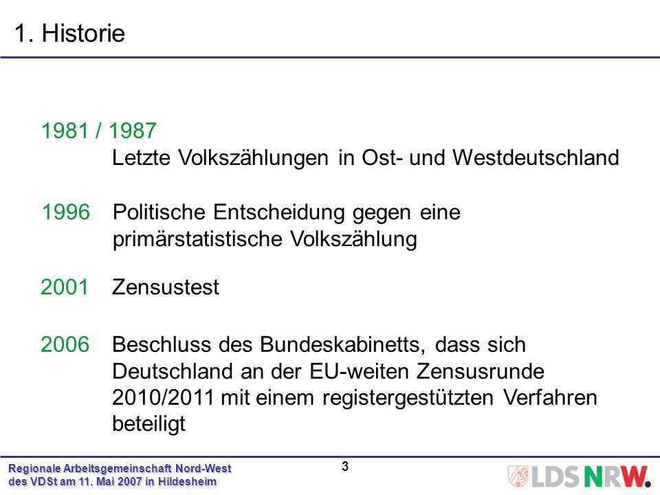 Regionale Arbeitsgemeinschaft Nord-West des VDSt am 11.