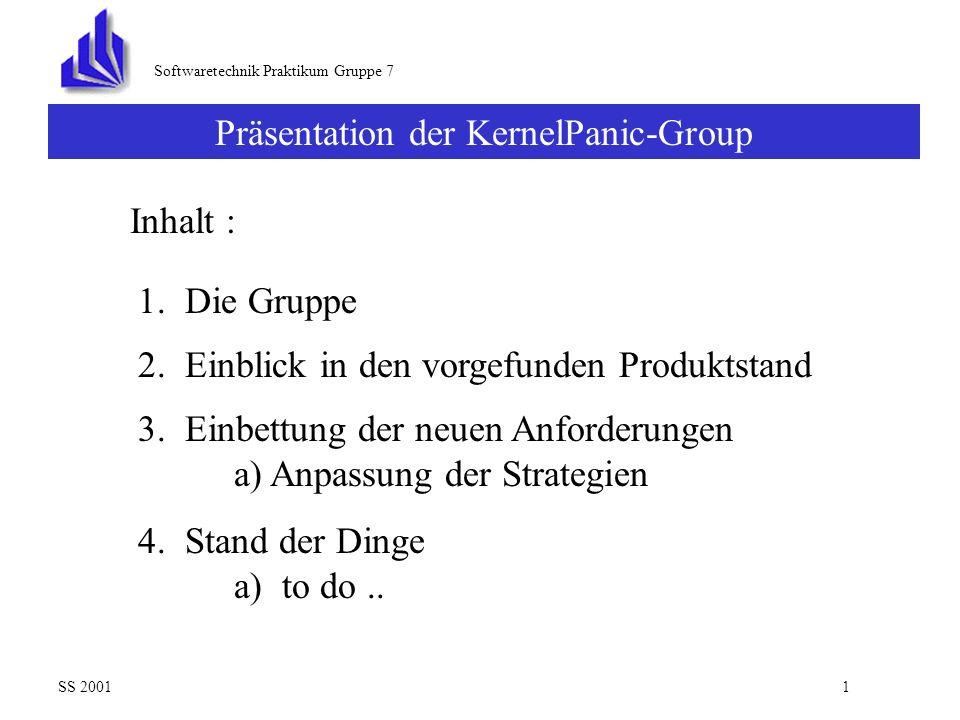 Präsentation der KernelPanic-Group Leitung: Jens Lischka Datum: 6.