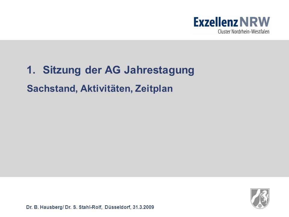 Dr. B. Hausberg/ Dr. S.