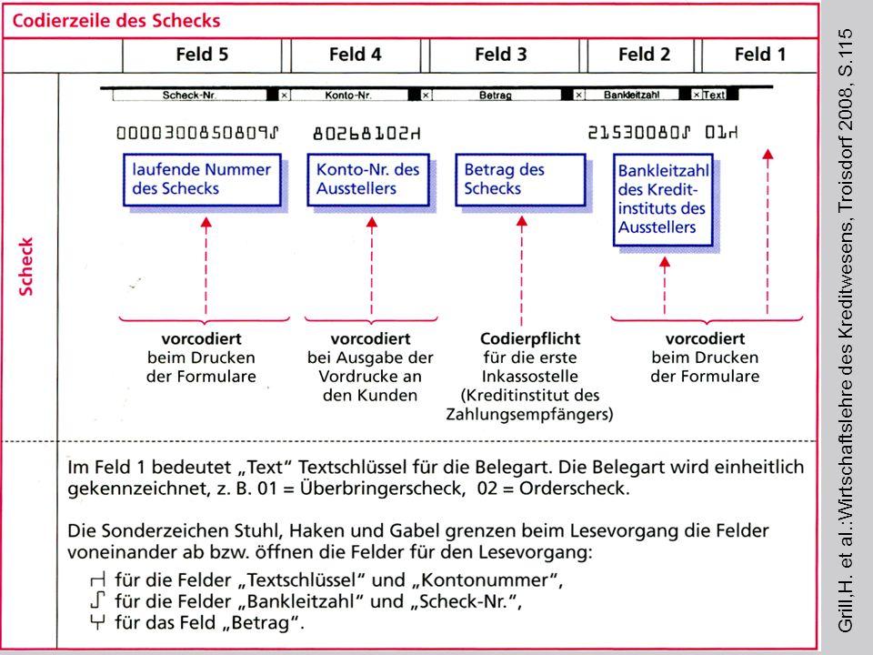 Grill,H. et al.:Wirtschaftslehre des Kreditwesens, Troisdorf 2008, S.115