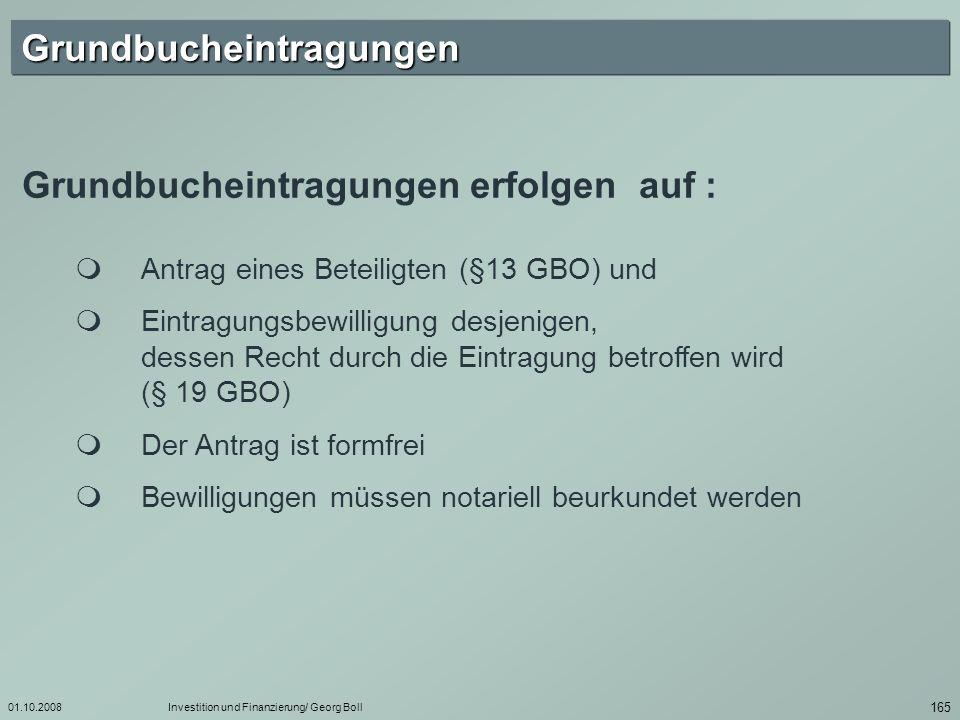 01.10.2008Investition und Finanzierung/ Georg Boll 166 § 13.
