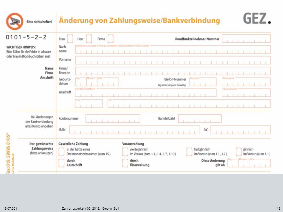 15.07.2011Zahlungsverkehr 02_2012/ Georg Boll115