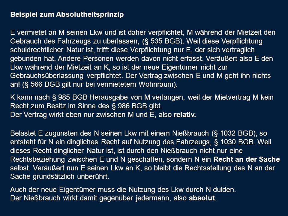 Besitzarten Unmittelbarer Besitz Eigenbesitz und Fremdbesitz, § 872 BGB mittelbarer Besitz, § 868 BGB .