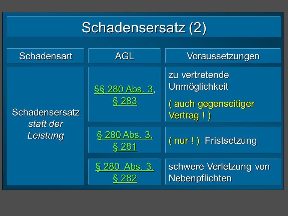 § 311 a Leistungshindernis bei Vertragsschluss (1) Der Wirksamkeit eines Vertrags steht es nicht entgegen, dass der Schuldner nach § 275 Abs.