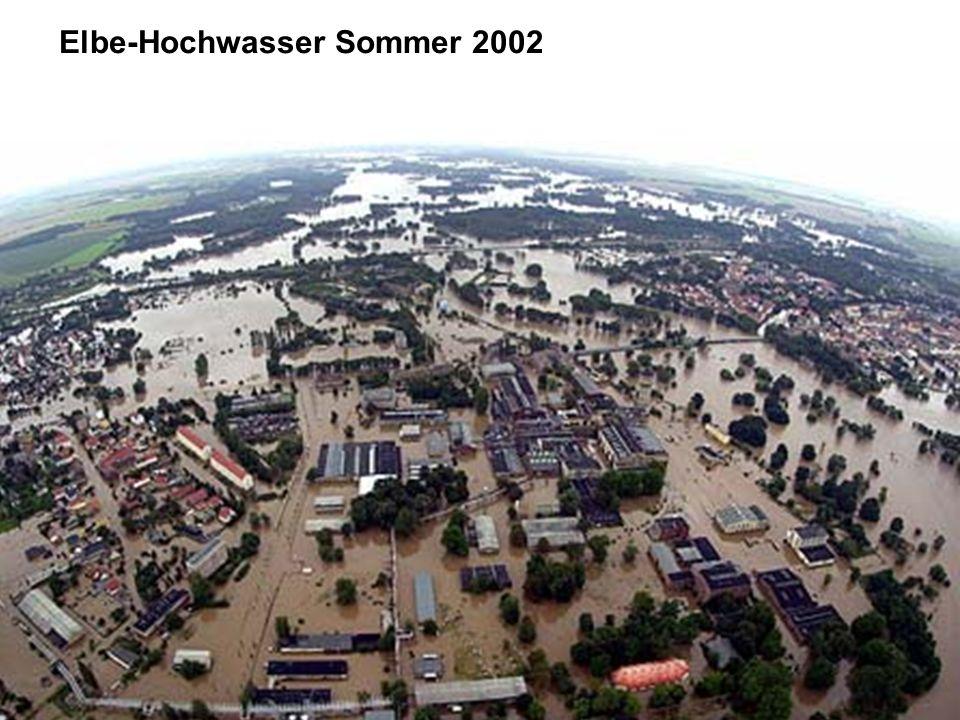 Elbe-Hochwasser Sommer 2002