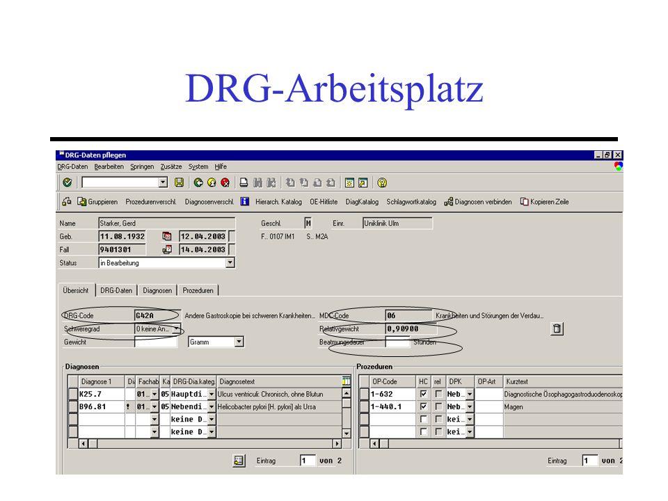 23 DRG-Arbeitsplatz