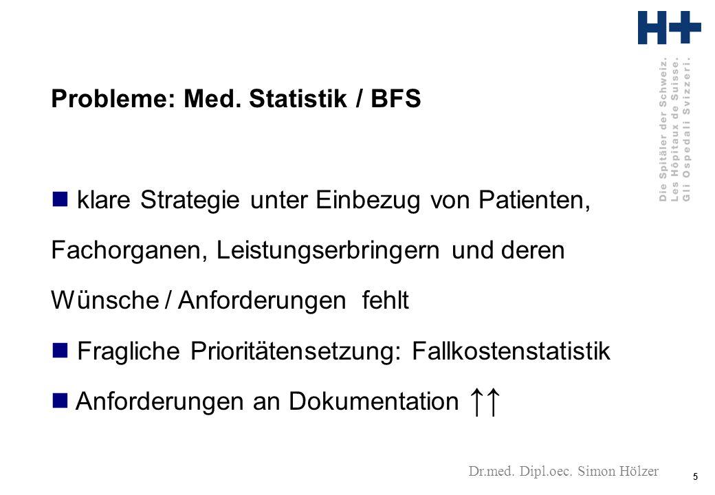 5 Dr.med. Dipl.oec. Simon Hölzer Probleme: Med.