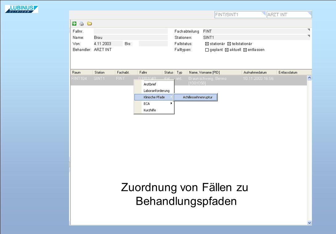 AN-Dokumentation erfolgt real mit Beleglesersystem.
