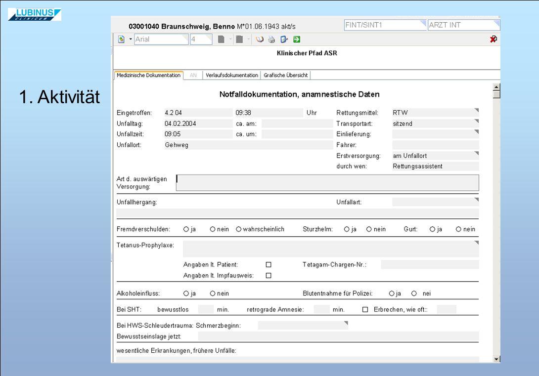 Ausrichtung auf KIS-fähige Standards Vermeidung redundanter medizinischer Dokumentation Makroprozess-Steuerung im KIS bei gleichzeitiger Wissensvermittlung Einbindung von KIS-Funktionalitäten (ORBIS ® WF-Module, etc.) und...
